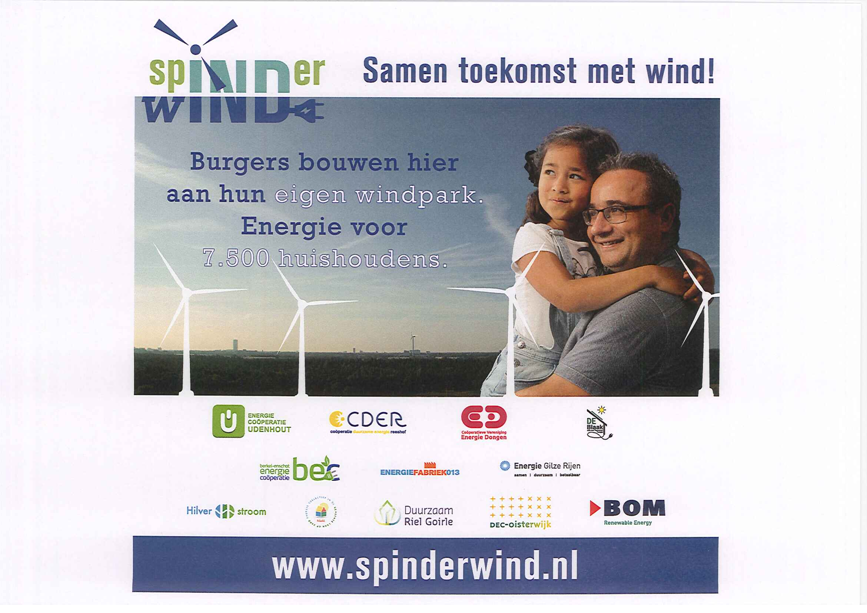 www.spinderwind.nl